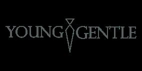 Y&G Logo einfacher Schriftzug grau