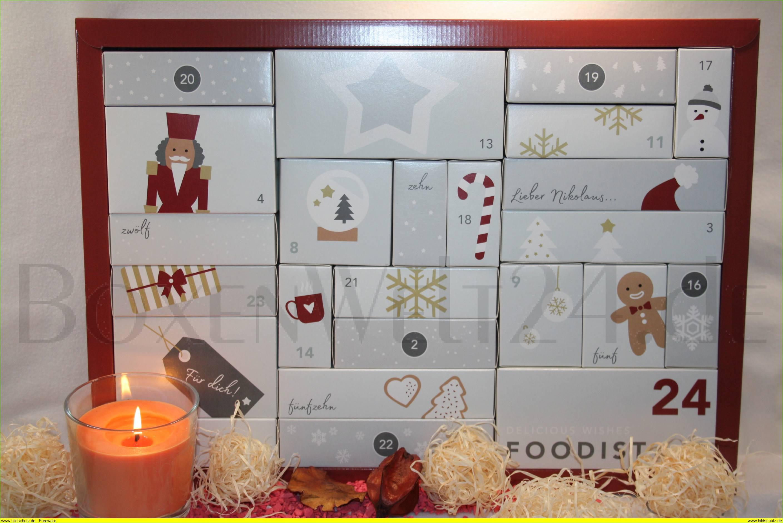 foodist adventskalender 2017 boxenwelt24. Black Bedroom Furniture Sets. Home Design Ideas